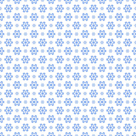 Simple seamless pattern with decorative elements. Beautiful background for fashion prints or wrapping paper. Ilustracja