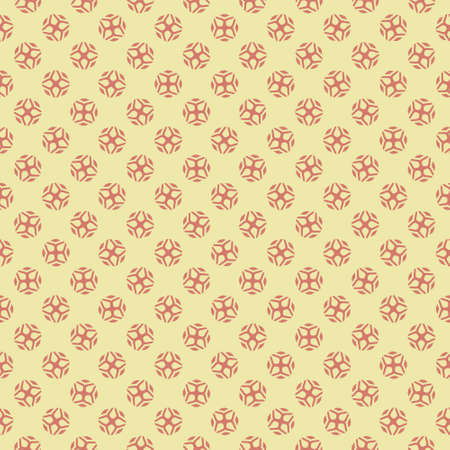 Simple seamless pattern with decorative elements. Beautiful background for fashion prints or wrapping paper. Çizim