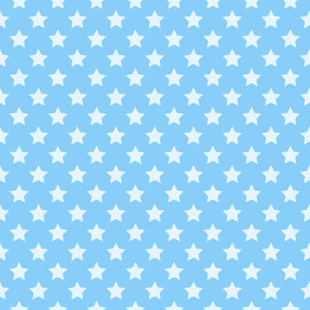 Star background. Seamless pattern with stars.