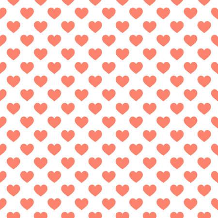 Stylish hearts seamless vector pattern. Wedding background. Romantic vector wallpaper for your design. Standard-Bild - 150284626