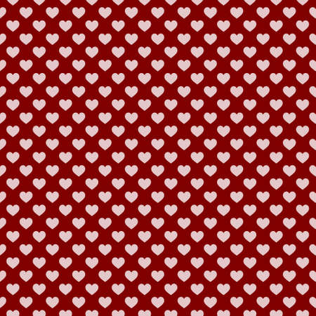 Stylish hearts seamless vector pattern. Wedding background. Romantic vector wallpaper for your design. 矢量图片