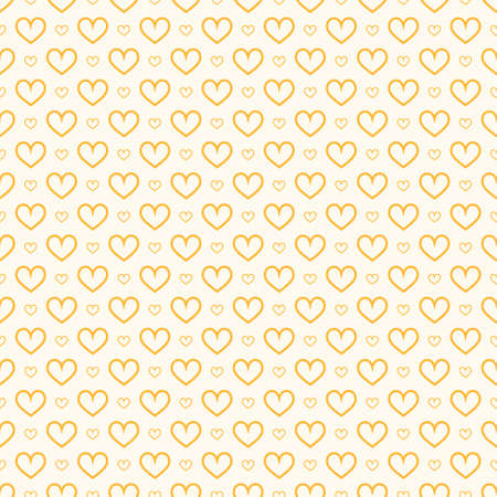 Stylish hearts seamless vector pattern. Wedding background. Romantic vector wallpaper for your design. Stock Vector - 150284770