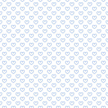 Stylish hearts seamless vector pattern. Wedding background. Romantic vector wallpaper for your design. Vector Illustration