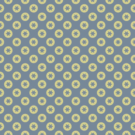 Simple seamless pattern with decorative elements. Beautiful background for fashion prints or wrapping paper. Ilustração