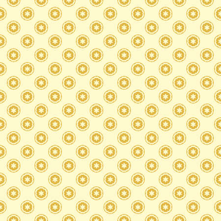 Simple seamless pattern with decorative elements. Beautiful background for fashion prints or wrapping paper. Illustration