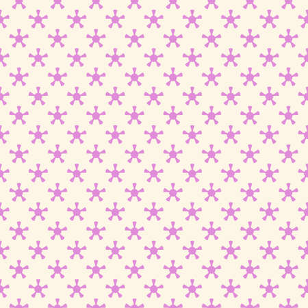 Simple seamless pattern with decorative elements. Beautiful background for fashion prints or wrapping paper. Ilustrace