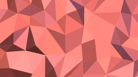 Light coral abstract background. Geometric vector illustration. Colorful 3D wallpaper.  イラスト・ベクター素材