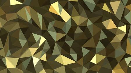 Khaki abstract background. Geometric vector illustration. Colorful 3D wallpaper. Vektorové ilustrace