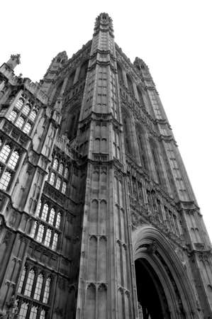 english famous: Parliament in London.