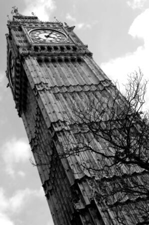 런던의 놀라운 빅 벤 스톡 콘텐츠