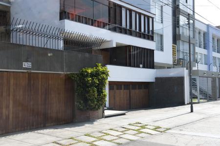 Architecture around Lima Peru on a sunny day. Editorial
