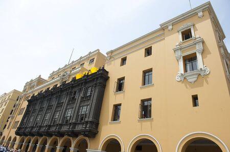 peru architecture: Architecture around Lima Peru on a sunny day. Editorial