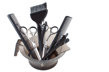 haircutting: Hairdresser