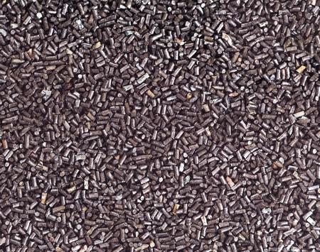 salvaging: Macro shot of retro granulated gunpowder