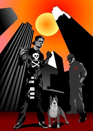 raperos: Los raperos banda