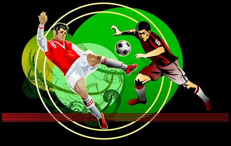 uefa: Action of Soccer  Soccer fight