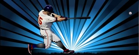 вал: Бейсбол игры Иллюстрация
