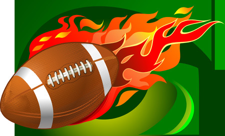 kickoff: American Football fireball