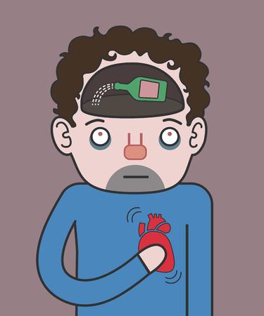 drunks: heart attack at the drunks