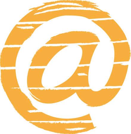arroba: Vector Arroba. Email sign Illustration
