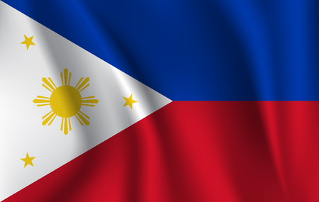 Flag of the Philippines Stock Photo - 106370336