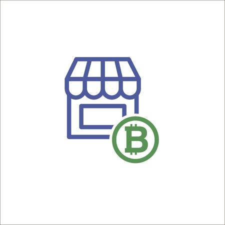 Store icon, shopping symbol