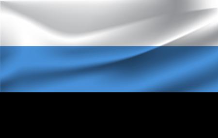 3D Waving Flag of Estonia