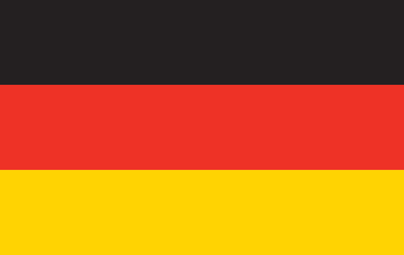 Germany Flag . national official colors. Stock Photo