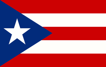 Puerto Rico Flag page symbol for your web site design Puerto Rico flag logo, app, UI. Puerto Rico flag illustration, .