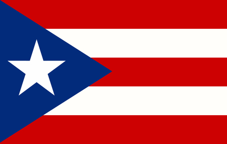 Puerto Rico Flag page symbol for your web site design Puerto Rico flag logo, app, UI. Puerto Rico flag Vector illustration, EPS10.