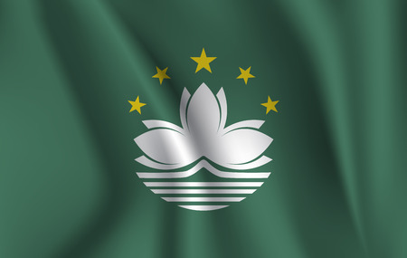 3D Waving Flag of Macao