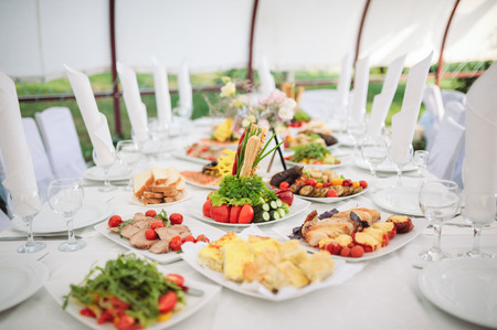 banquet table: Catering and banquet
