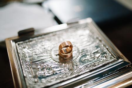 wedding orthodox or christening baptism Stock Photo