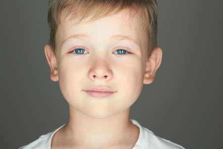 beautiful boys: smiling child. funny little boy. joy. 5 years old.kids emotion
