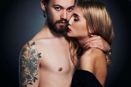 Girl and boy sexy photo