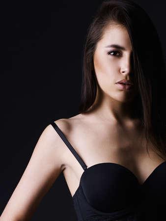Sexy Körper woman.beautiful Mädchen in Unterwäsche
