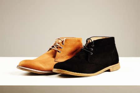 men's shoes.fashion still life men boots