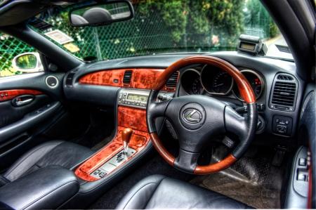 lexus: Lexus SC430 Cabin Editorial