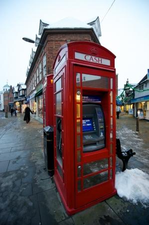 cash machine: Red Cash Machine