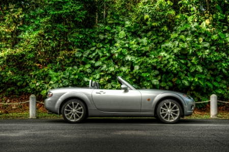 mazda: Mazda MX-5 at Old Upper Thomson Road