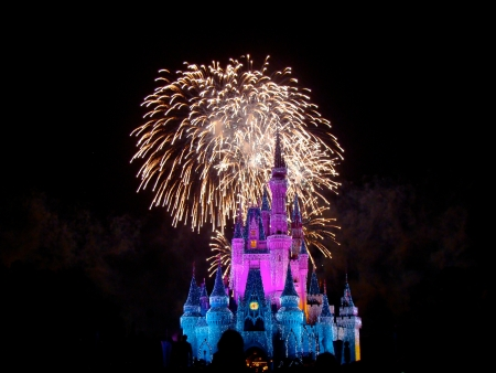 Wishes Nighttime Spectacular Editorial
