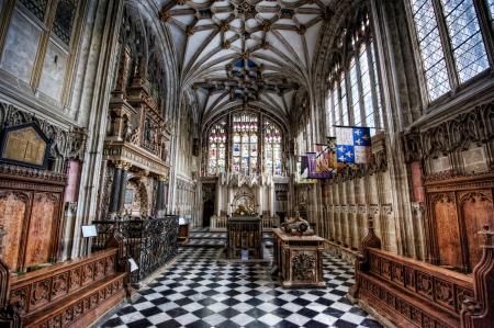 Beauchamp Chapel in Collegiate Church of St Mary, Warwick