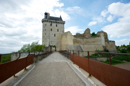 chinon: Old French royal fortress