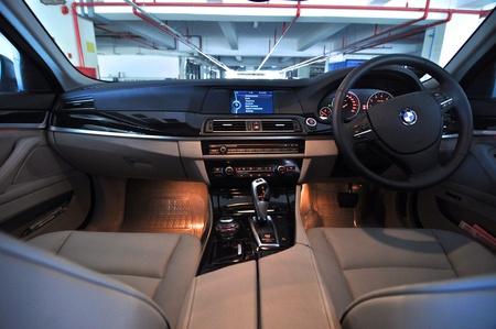 bmw: Interior of a car