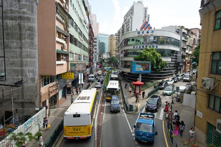 bustling: Bustling street