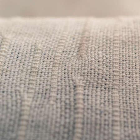 Macro Vintage View Of A Kitchen Towel Texture Fabric Textile..