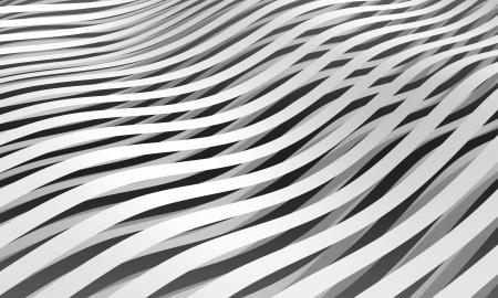 단색 추상 3D 줄무늬 배경