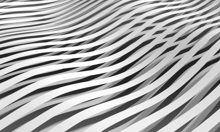 unequal: Monochrome abstract 3d stripes background
