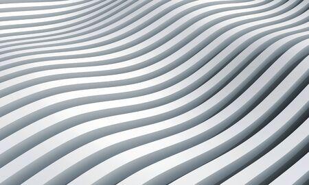 흑백 추상 3d 파도 줄무늬 배경