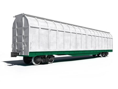 all purpose: 3d render illustration isolated on white  Perspective view of the modern white universal carriage